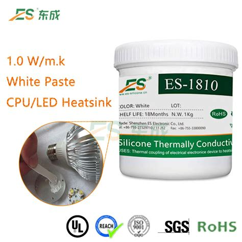 heat sink thermal conductivity heat sink thermal silicone grease paste with high thermal