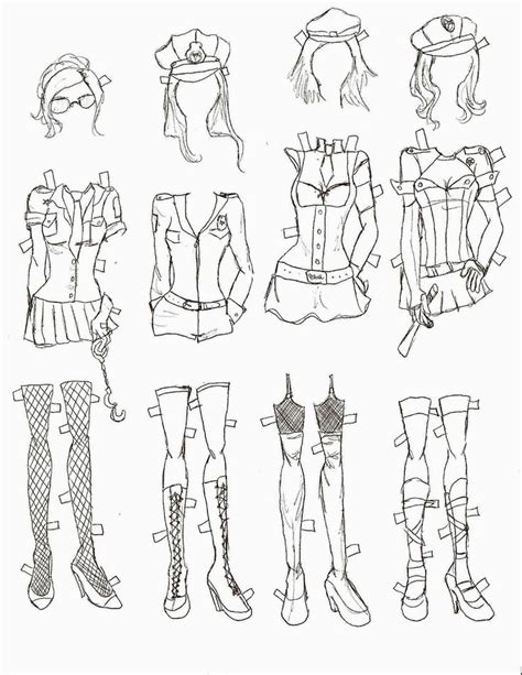 fashion doll template fashion paper doll template miss paper dolls