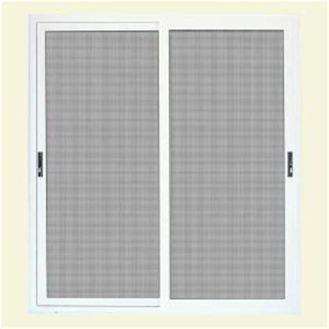 Patio Screen Door Home Depot Unique Home Designs 72 In X 80 In White Sliding Patio Meshtec Ultimate Screen Door