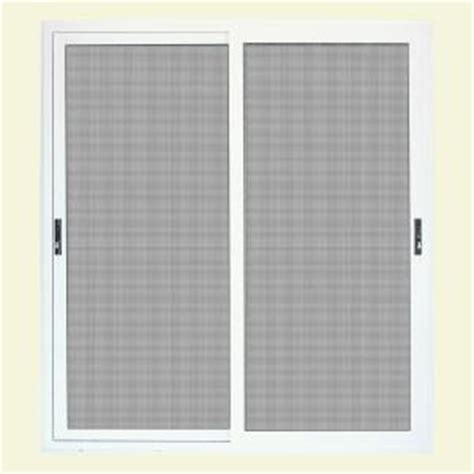 Screen Patio Doors Home Depot Unique Home Designs 72 In X 80 In White Sliding Patio Meshtec Ultimate Screen Door