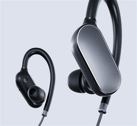 Earphone Bluetooth Xiaomi xiaomi announces waterproof mi sports bluetooth headset