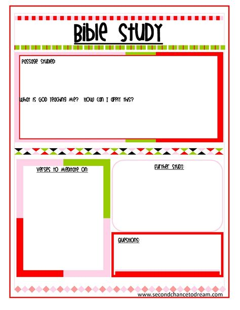 Free Printable Bible Study Worksheets by Bible Study And Prayer Request Printables Second