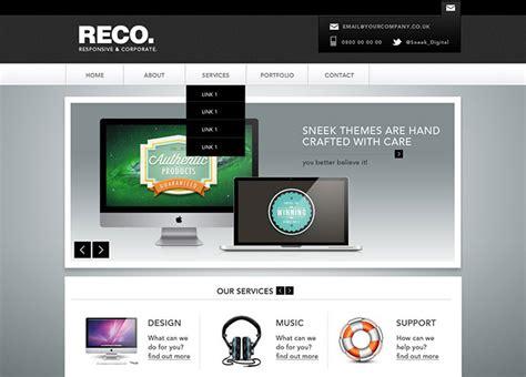 95 Beautiful Photoshop Website Templates Web Graphic Design Bashooka Photoshop Web Templates