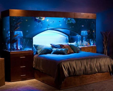 aquarium bed headboard 13 unexpected aquarium design ideas