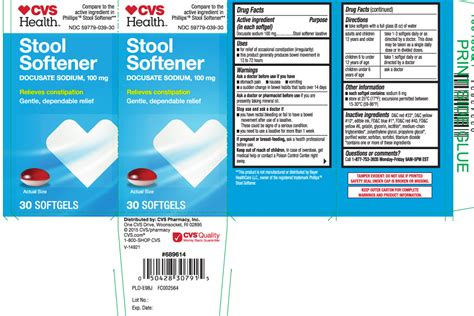 Side Effects Of Stool Softeners Term by Dailymed Stool Softener Docusate Sodium Capsule Liquid