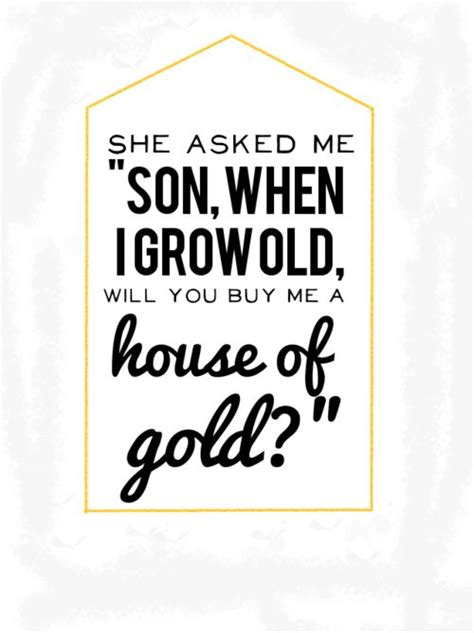 house of gold twenty one pilots lyrics