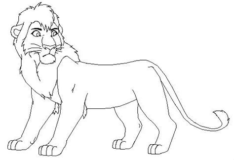 lion king 2 kovu coloring pages 24 best images about lion king coloring pages on pinterest