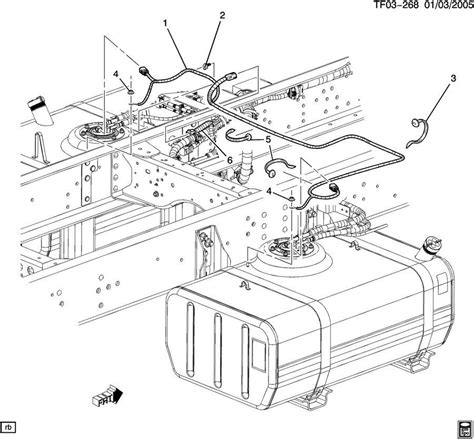 gmc t6500 wiring diagram gmc autosmoviles 2004 09 topkick kodiak t6500 t8500 dual tank fuel wire harness 15112350 15088375 factory oem parts