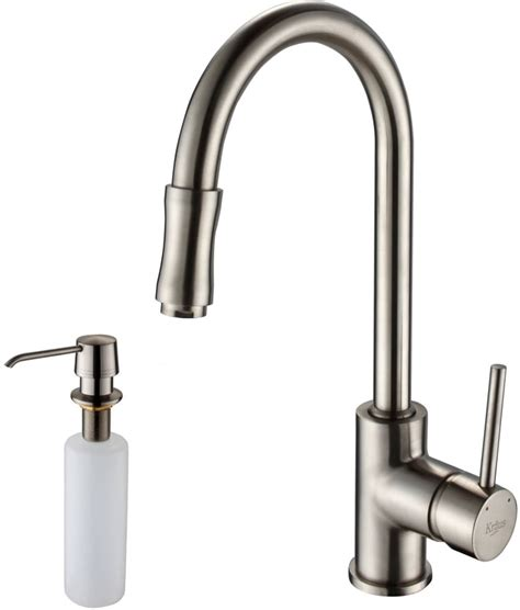 Watermark Kitchen Faucets by Kraus Khu10032kpf1622ksd30sn 32 Inch Undermount Single Bowl Stainless Steel Sink With Pull Out