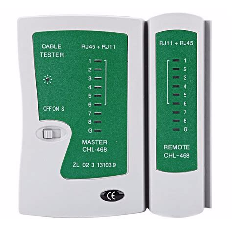 Alat Test Lan lan tester alat cek kabel lan pendeteksi aliran dan