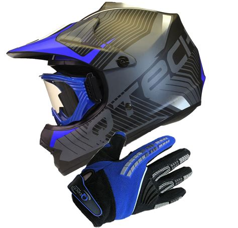 motocross helmets with goggles childrens motocross style mx helmet goggles gloves
