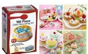 kit decorare tort 100 piese decoratul torturilor si prajiturilor de acum este o joaca