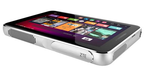 Android Projector by Zte S Android Projector Is Basically A Tablet