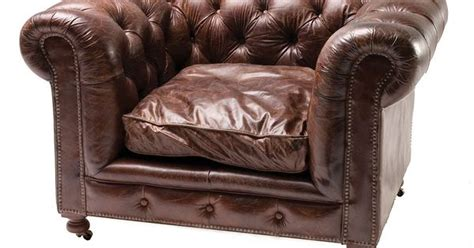 Contemporary Media Room - conrad vintage cigar leather chesterfield armchair leather club chairs chesterfield and