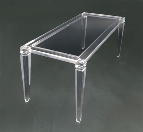 tavoli plexiglass dining tables poliedrica s r l arredamento e lavorazione
