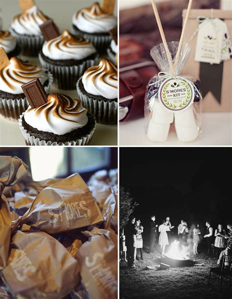 smores at wedding reception gourmet s mores for your wedding green wedding shoes
