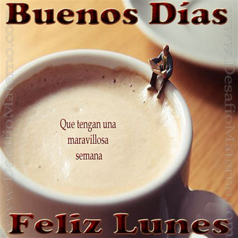 imagenes lunes y cafe buenos dias y pictures to pin on pinterest tattooskid