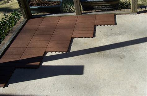 outdoor flooring deck tiles install an entire deck in less than a day with