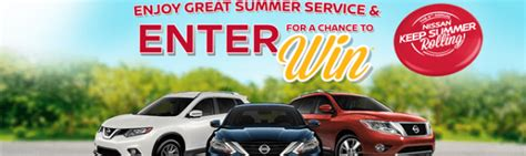 Nissan Summer Sweepstakes 2017 - best of 2016 top sweepstakes of the year