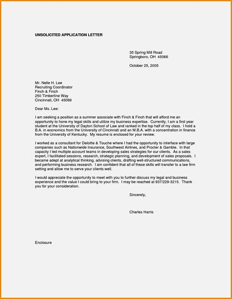 cover letter in application application cover letter exle resume template
