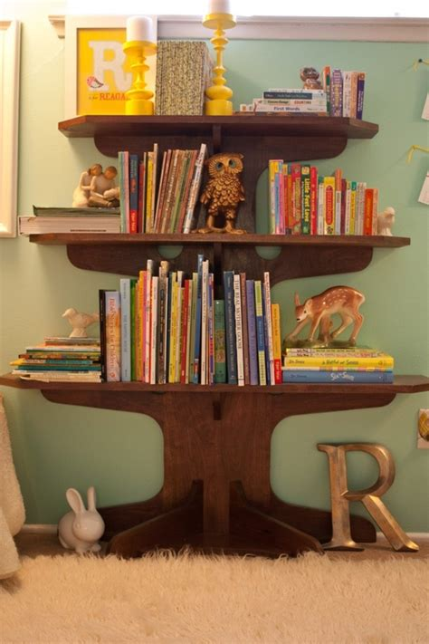 tree shaped bookshelf find a new way to be in