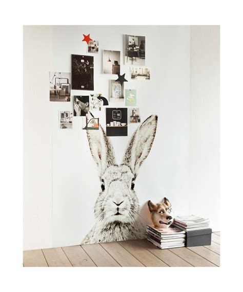 Magnetische Tapete by Magnetische Tapete Hase Catrin
