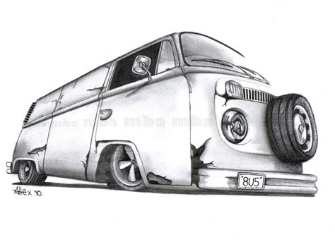 old volkswagen drawing pin old vw drawing image search results on pinterest