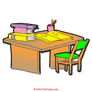 Small Home Interior Design by Table Clipart Organized Desk Pencil And In Color Table