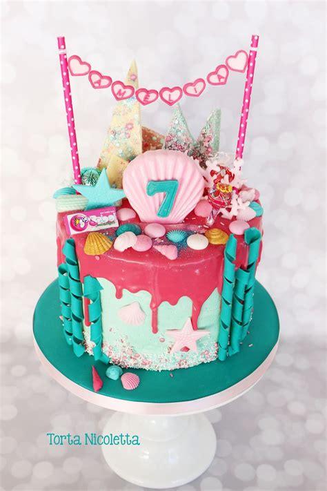 mermaid drip cake rezepte