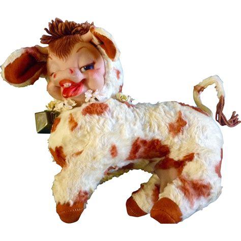 stuffed cow rushton stuffed animal cow rushton creations maisy 1955 gumgumfuninthesun ruby
