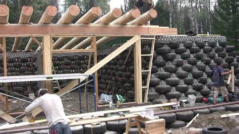 House Build Plans by Earthship Build In Bc Canada 1 Of 2 Youtube