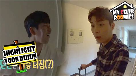 my celeb roomies episode list my celeb roomies yoon dujun the last guest dujun