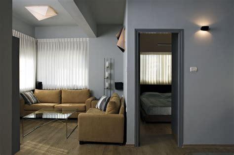 small bachelor apartment contemporary living room
