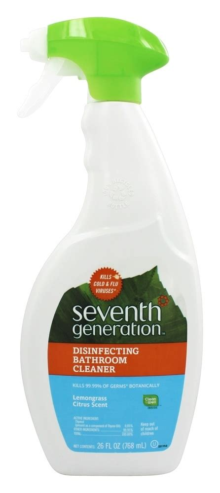 seventh generation bathroom cleaner citrus spray factory brand outlets