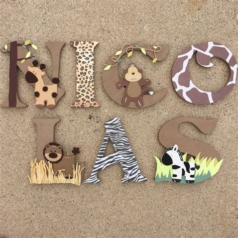 Initials Acrylics And Awesome On Pinterest How To Decorate Wooden Letters For Nursery