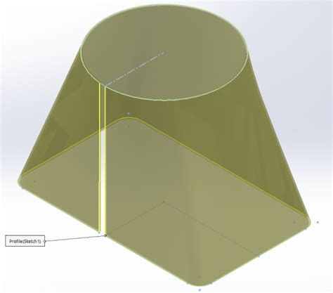 solidworks flat pattern bend notes how to create solidworks lofted bends