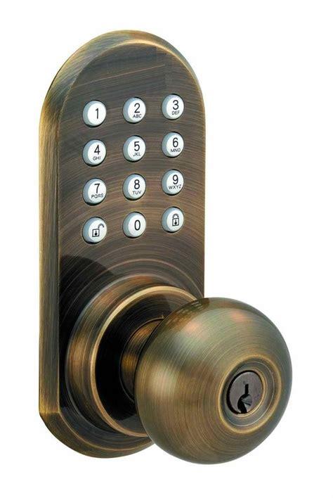 Wireless Door Knob by Wireless Remote Controlled Door Knob With Keypad Ebay