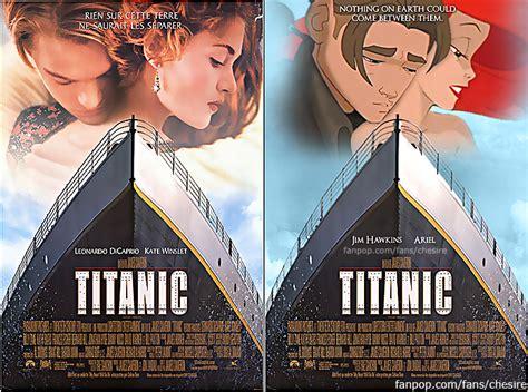 film titanic version française jim ariel disney s titanic movie poster disney
