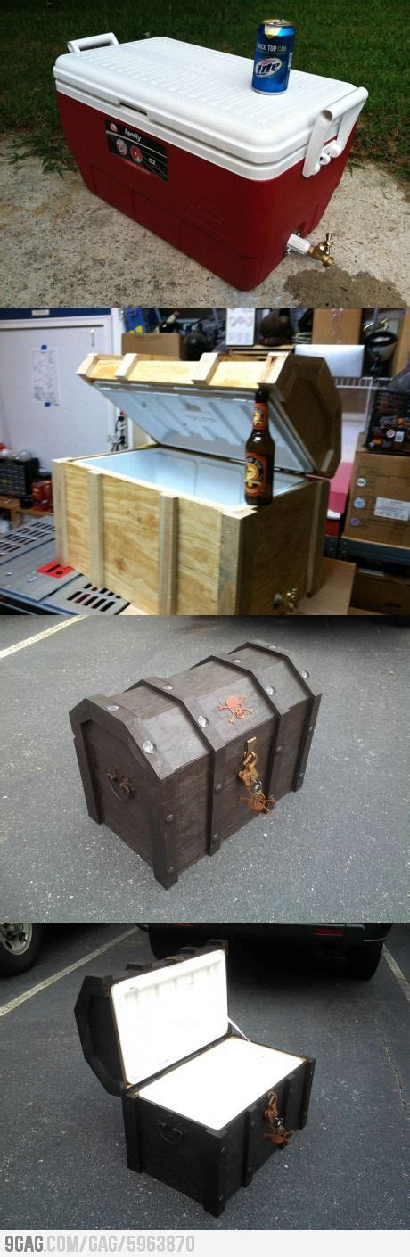 diy pirate chest diy pirate chest cooler tailgating and beaches