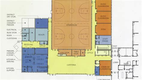 public building floor plans willmar public schools unveils floor plans for new