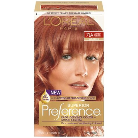 loreal hair dye colors loreal superior preference hair dye color rr07