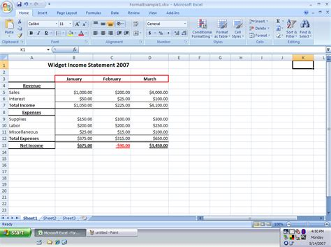 format picture in excel 2007 how do i perform basic formatting in excel 2007 page