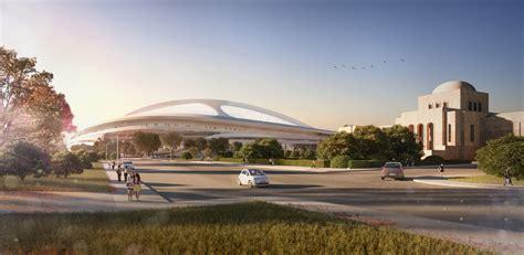 designboom zaha hadid japan zaha hadid new national stadium tokyo design released