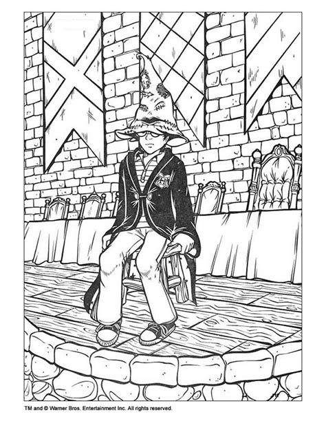 Harry potter coloring pages - Hellokids.com