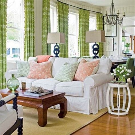 pink and green living room pink green living room noteworthy rooms pinterest