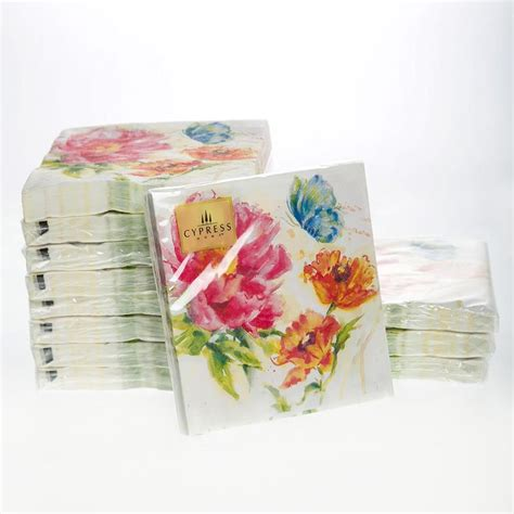 Tissue Napkin Eropa Decoupage 3 aliexpress buy cocktail paper napkins 20pcs 25x25cm 3 ply peony paper napkins for wedding