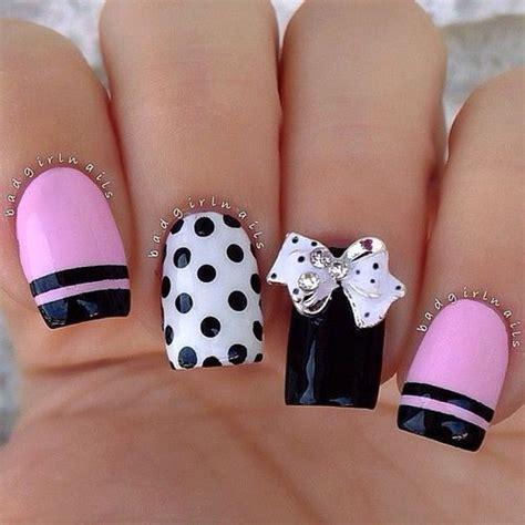 imagenes de uñas de acrilico de temporada 30 ideas de u 241 as decoradas para usar en la temporada 2016