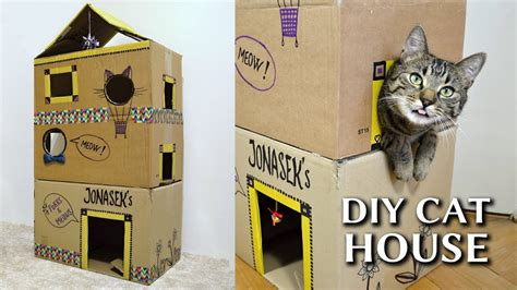 cardboard cat house plans diy cat house www pixshark com images galleries with a bite