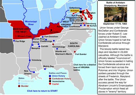 united states map post civil war best photos of us civil war battles map american civil