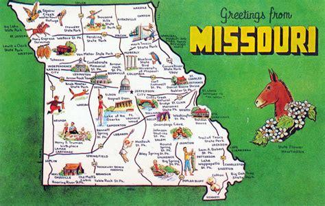 america map missouri large tourist map missouri state missouri state usa